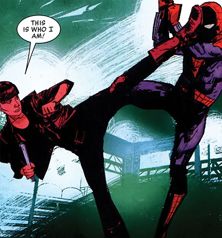 Snapdragon vs. Spider-Man (Marc Spector)