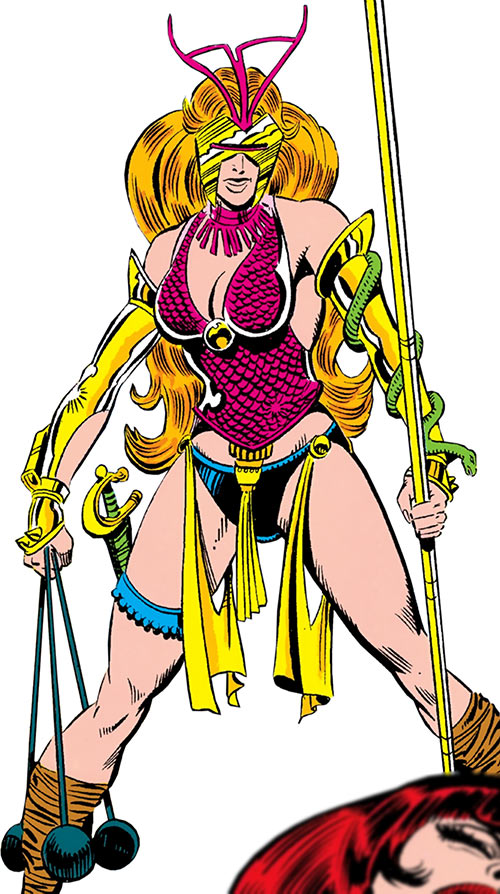 Snapdragon Marvel Comics In Her 1980s Costume