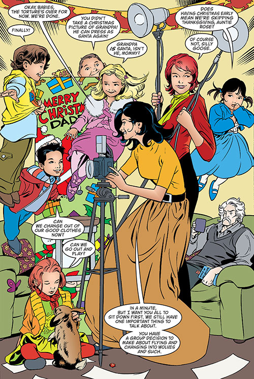 Snow White of the Fables (DC Comics), Rose Red and the cubs