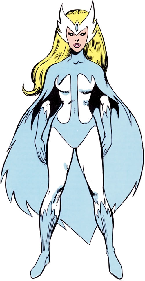 Snowbird (Alpha Flight) (Marvel Comics) from the handbook