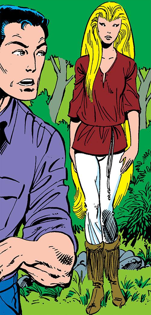 Snowbird (Alpha Flight) (Marvel Comics) as a child