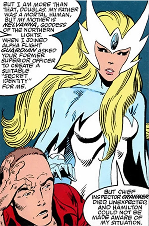 Snowbird (Alpha Flight) (Marvel Comics) and Douglas