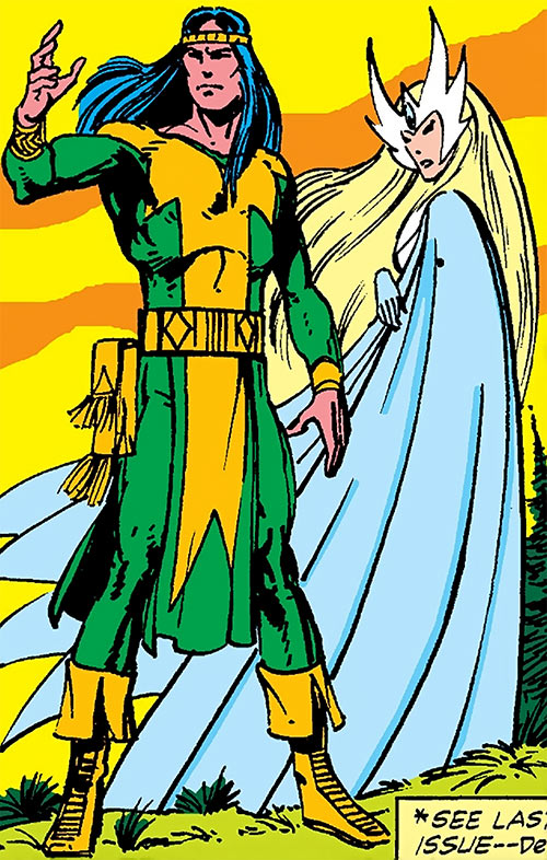 Snowbird (Alpha Flight) (Marvel Comics) and Shaman