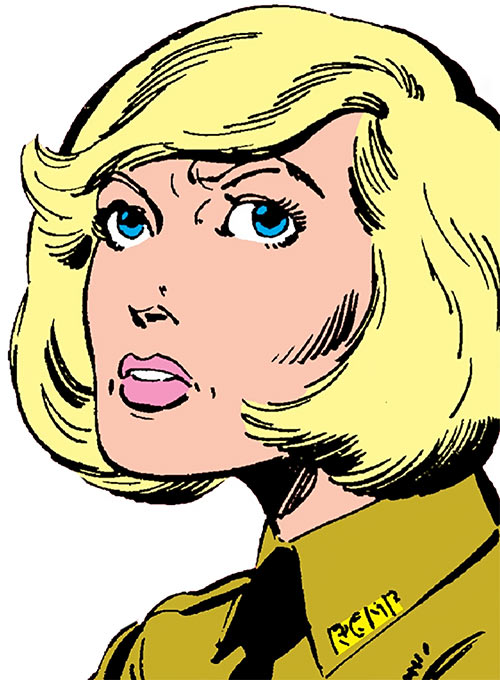 Snowbird (Alpha Flight) (Marvel Comics) as McKenzie