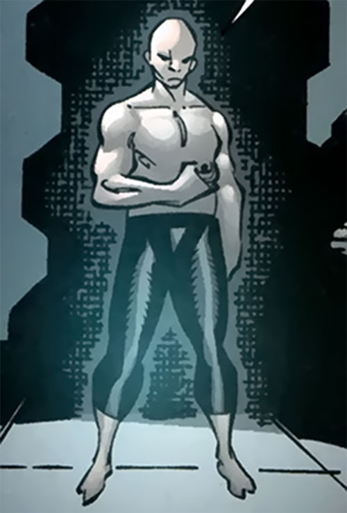 Socialist Red Guardsman of the Great 10 (DC Comics) without the armor
