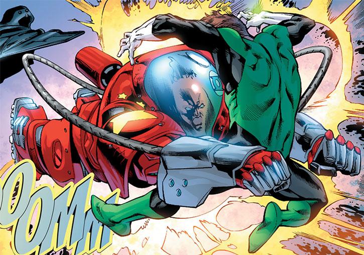 Socialist Red Guardsman vs. Green Lantern Hal Jordan