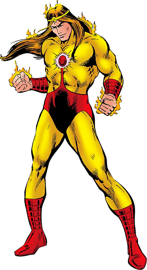 Solarr from Marvel Comics
