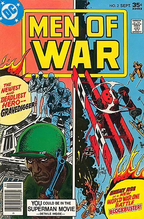 Cover of the Men of War #2 comic book