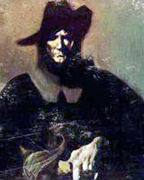 Solomon Kane portrait