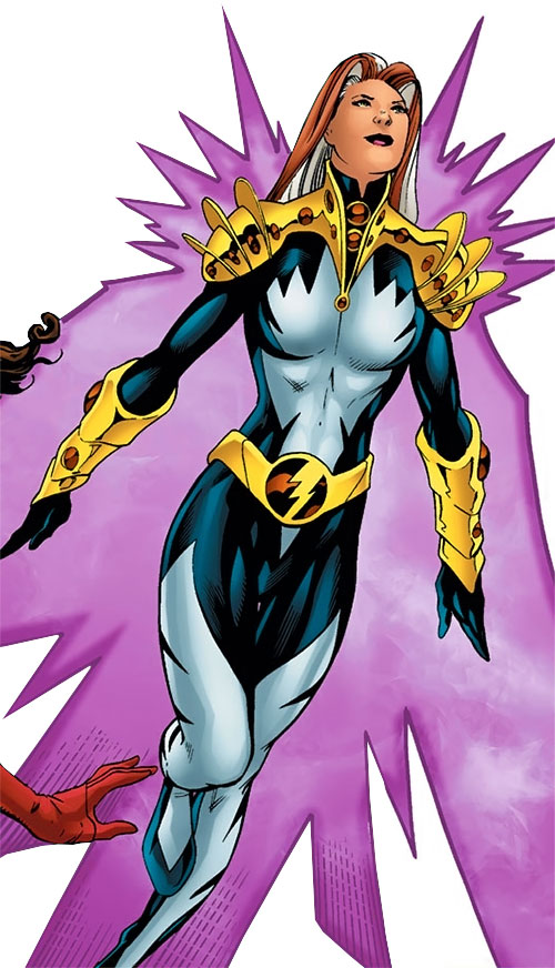 Songbird of the Thunderbolts (Marvel Comics) flying