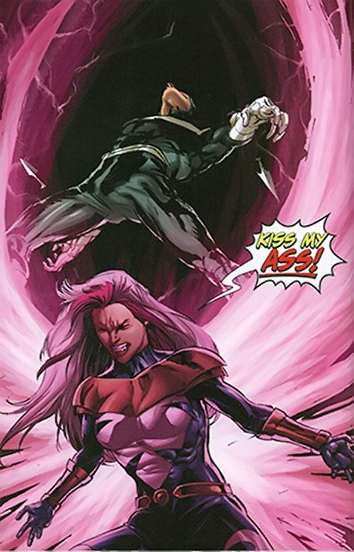 Songbird of the Thunderbolts (Marvel Comics) vs. Bullseye
