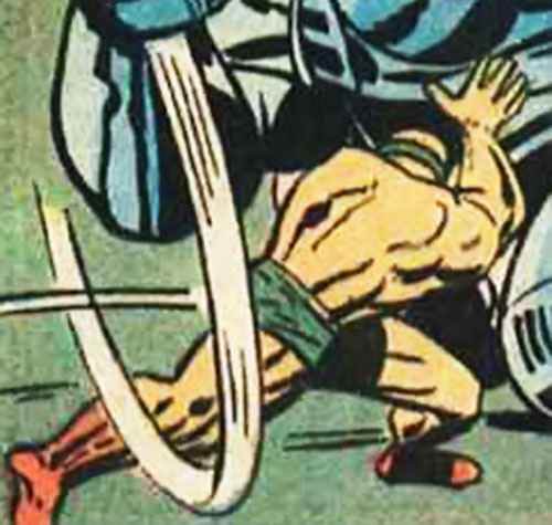 Jack Kirby's Sonny Sumo (DC Comics) fighting a robot