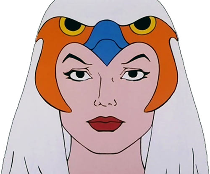 Sorceress of Grayskull (Masters of the Universe 1980s cartoon) portrait