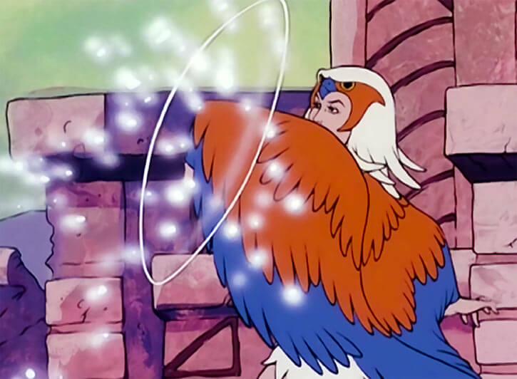 Sorceress of Grayskull (Masters of the Universe 1980s cartoon) magic shield