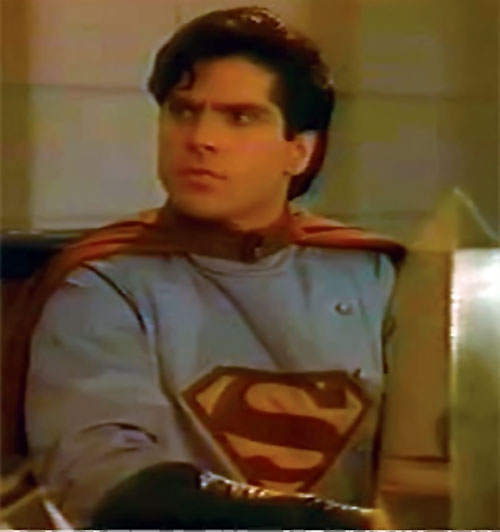 Superboy (TV series) as Sovereign, sitting