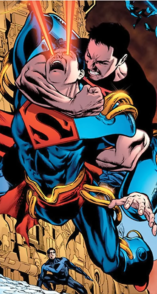 Superboy of Earth-Prime (DC Comics) vs. Superboy (Kon-El) and Nightwing