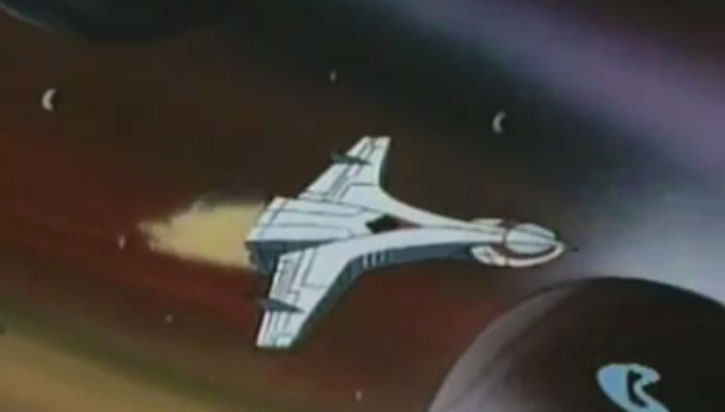Space Ghost's space cruiser (Space Stars version)
