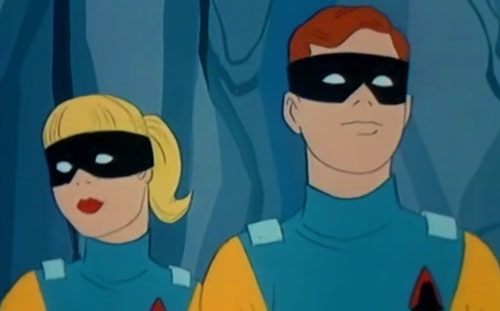 Space Ghost (Hanna Barbera cartoon) - Jan and Jace
