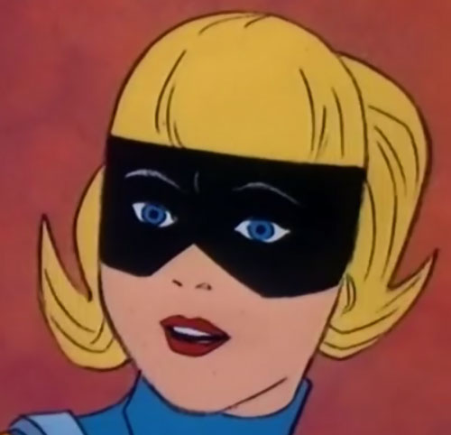 Space Ghost (Hanna Barbera cartoon) - Jan face closeup