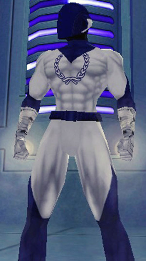 Special Brew (City of Heroes character) in a white costume