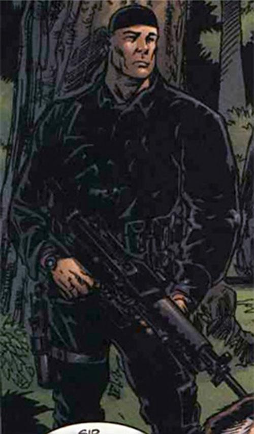 Specialist Foss (Fury MAX) (Marvel Comics)