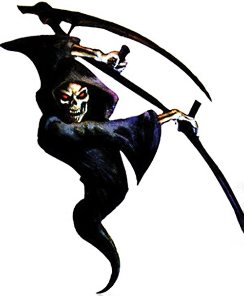 Everquest Spectre attacking with its scythe