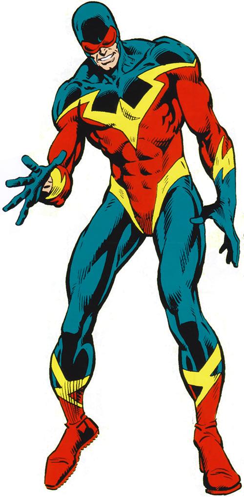 Speed Demon in the 1983 Marvel Comics handbook