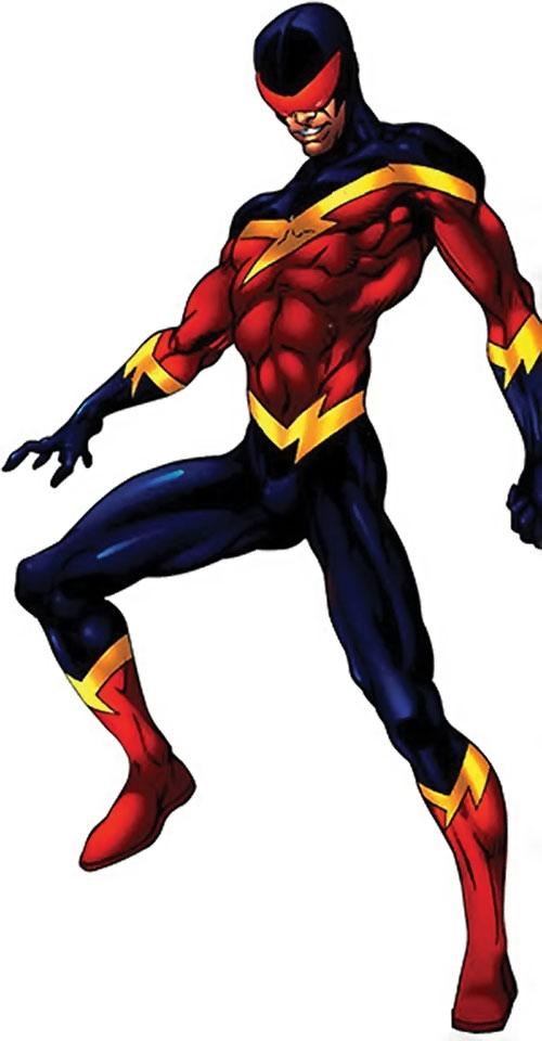 Speed Demon (Spider-Man enemy) (Marvel Comics)