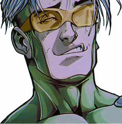 Speed of the Younger Avengers (Marvel Comics) smirking face