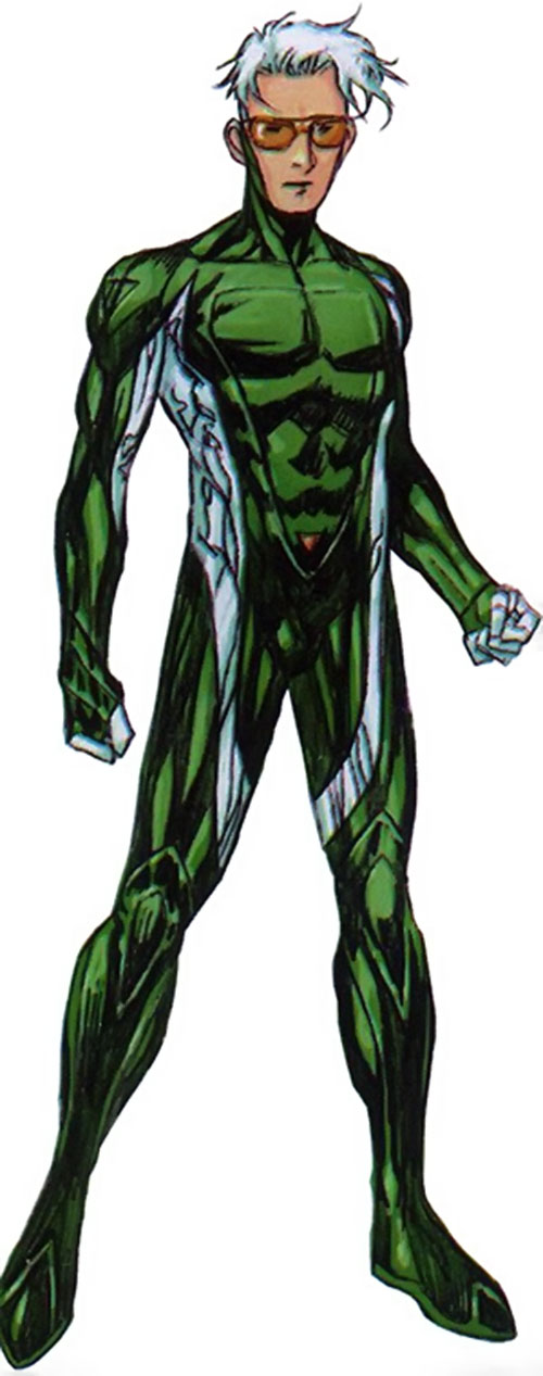 Speed of the Younger Avengers (Marvel Comics)