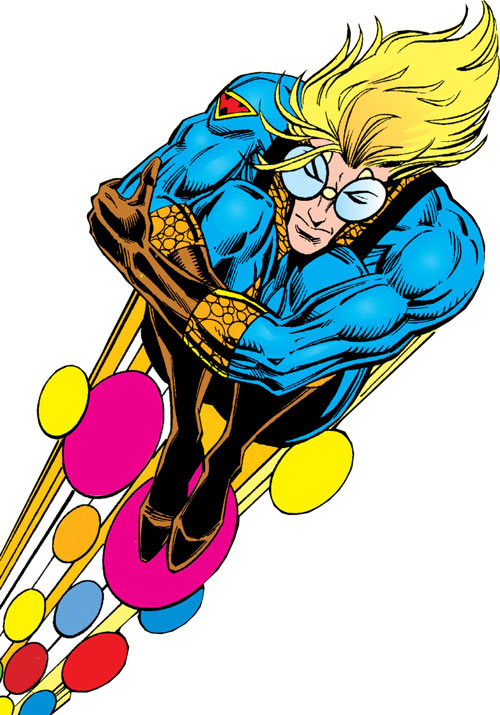Speedball (Marvel Comics) (Classic career) balled up