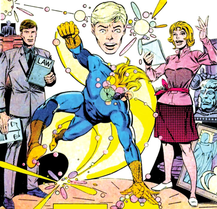 Speedball (Marvel Comics) (Classic career) Ditko art