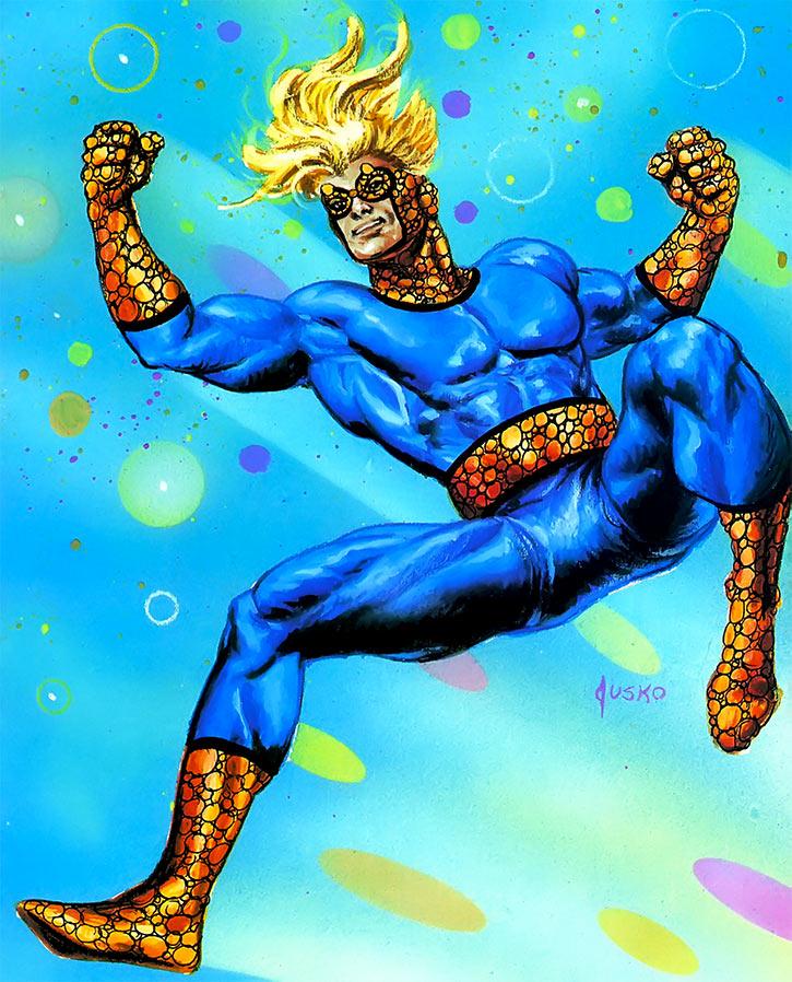 Speedball - Marvel Comics- Joe Jusko masterpieces painting