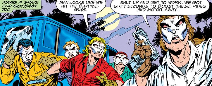 Speedboyz (DC Comics) (Robin enemies)