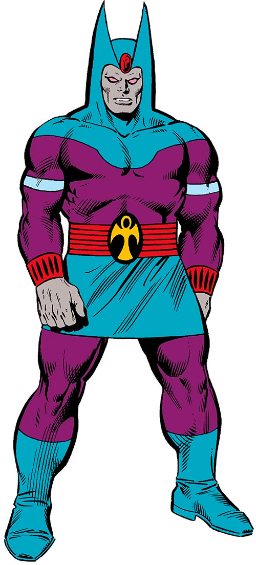 The Sphinx (Marvel Comics) from the oldest handbook