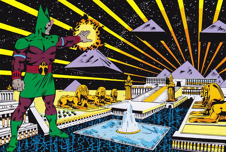 Sphinx (Marvel Comics) power of the cosmic pyramids grandeur