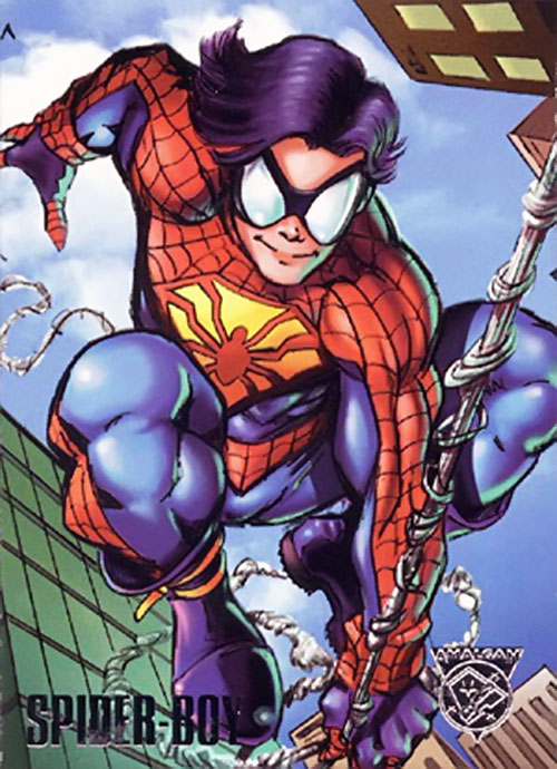 Spider-Boy trading card