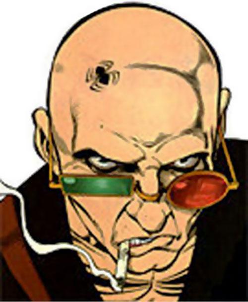 Spider Jerusalem (Transmetropolitan) (DC Comics) face closeup
