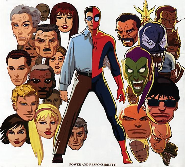 Spider-Man - Spiderman - Marvel Comics - Peter Parker