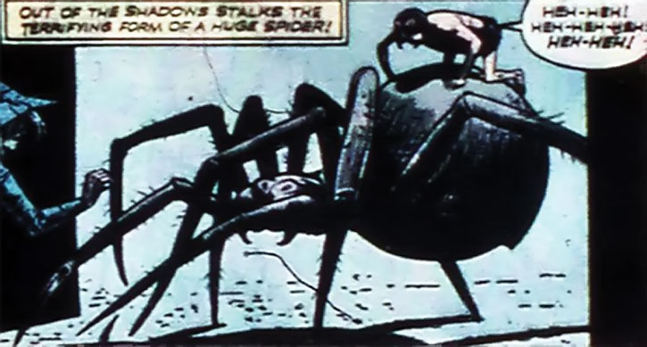 Spider-Man (Quality Comics Nazi) on his mount