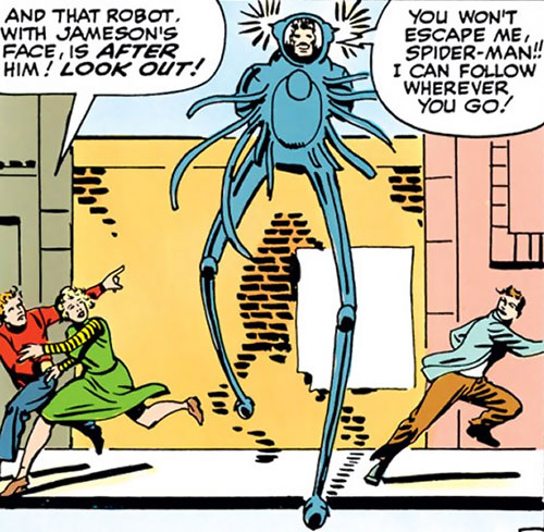 Spider-Slayer Mk1 (Spider-Man enemy) (Marvel Comics) by Ditko