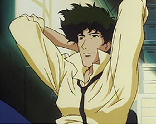 Spike Siegel (Cowboy Bebop) relaxing