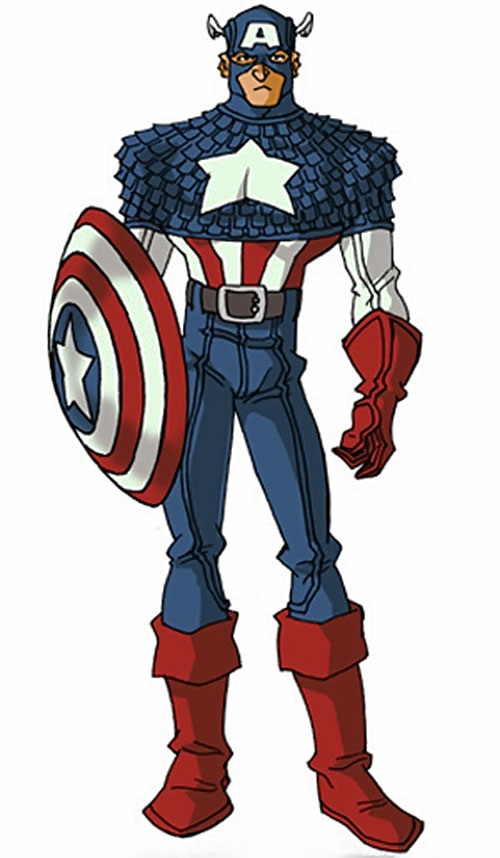 William Nasland as Captain America by RonnieThunderbolts