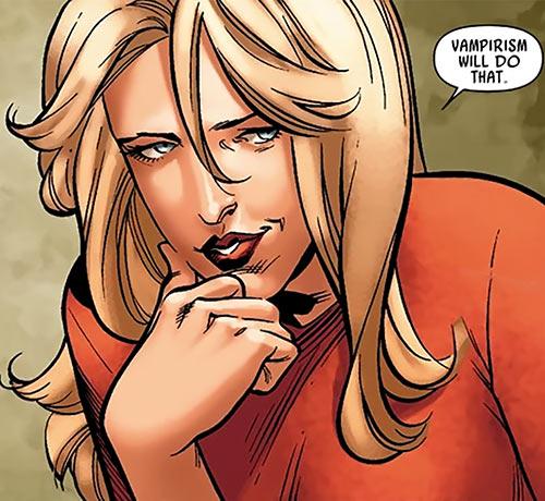 Spitfire of MI13 (Marvel Comics) (Jacqueline Falsworth) out of costume