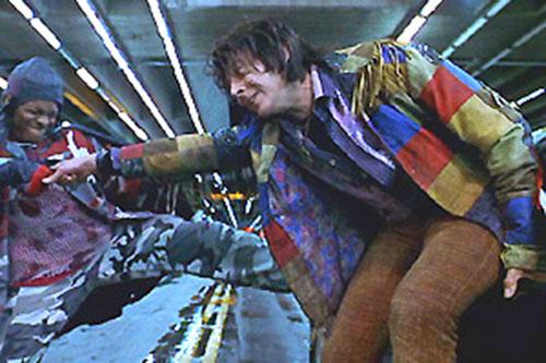 The Spleen (Paul Reuben in Mystery Men) uses his power