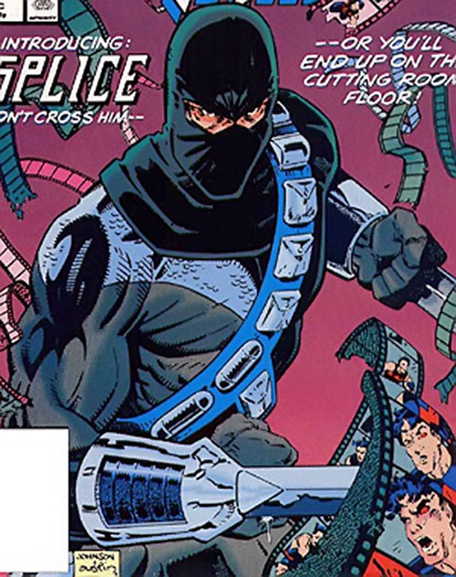 Splice (Wonder Man enemy) (Marvel Comics) cover art