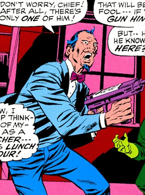 Split-Second Squad (Avengers enemies) (Marvel Comics) - Pinstripe