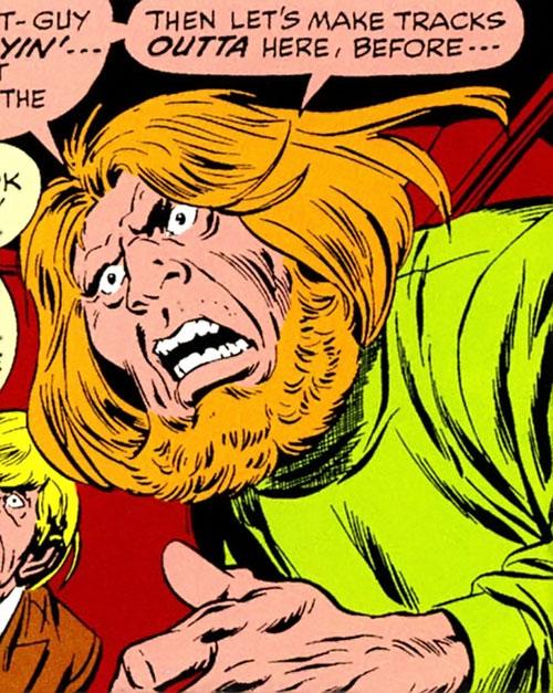 Split-Second Squad (Avengers enemies) (Marvel Comics) - Joe the Gorilla