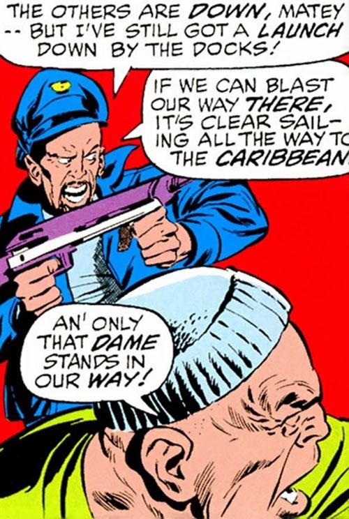 Split-Second Squad (Avengers enemies) (Marvel Comics) - Skragg and Onionhead