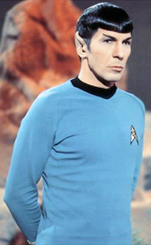 Spock (Leonard Nimoy in Star Trek) in his youth